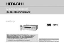 Buy Sanyo HTADD3W DA Manual by download #174459