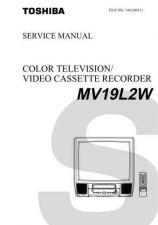Buy TOSHIBA MV19L2W Service Schematics by download #160254