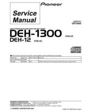 Buy PIONEER C2602 Service Data by download #148989
