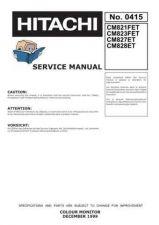 Buy HITACHI No 0415E Service Data by download #150985