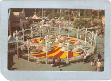 Buy CA Anaheim Amusement Park Postcard Disneyland Mad Hatter's Tea Party top_b~233