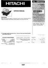 Buy HITACHI No SM00008E Service Data by download #147406