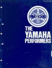 Buy Yamaha PM1000E 1 Operating Guide by download Mauritron #205001