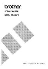Buy BROTHER PT-9200DX SERVICE MANUAL Service Manual by download #150065
