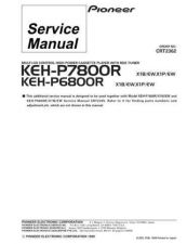 Buy PIONEER C2362 Service Data by download #152585