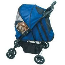Buy Pet Gear Happy Trails Pet Stroller Cobalt Blue
