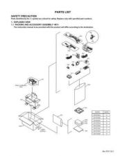 Buy Yf011par Service Schematics by download #132268