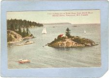 Buy CAN Vancouver Postcard View Looking Out To Point Grey can_box1~150