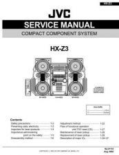 Buy JVC HX-Z3J Service Schematics by download #156001