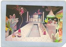 Buy CA Anaheim Amusement Park Postcard Disneyland India It's A Small World top~232
