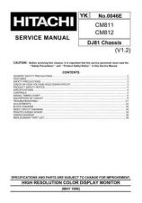 Buy HITACHI CM812 Technical Info by download #153970