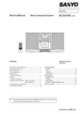 Buy Sanyo DC-DA1000(1) Manual by download #173844