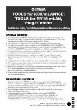 Buy Yamaha MLANE2 Operating Guide by download Mauritron #204859
