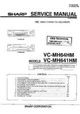 Buy Sharp VCMH64HM-007 Service Schematics by download #159051