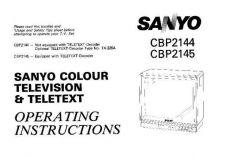Buy Sanyo CBP2144 Manual by download #172763