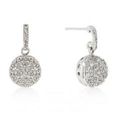 Buy Crystal Ball Dangle Earrings