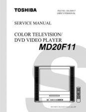 Buy TOSHIBA MD20F11 SVM Service Schematics by download #160173