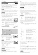 Buy SONY CMD-Z5 CZ-SCREEN OPERATING GUIDE by download #166656