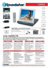Buy ROADSTAR LCD-1040KLTN by download #128274