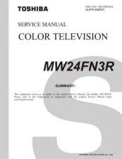 Buy TOSHIBA MW24FN3R SUMMARY Service Schematics by download #160319