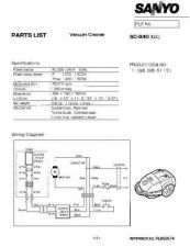 Buy Sanyo SC400 (SP) PL650719 Manual by download #175206