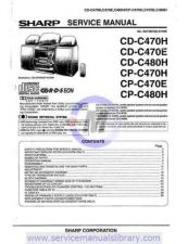 Buy Sharp CDC607H-611H PG GB(1) Manual by download #179944