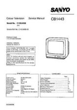 Buy Sanyo CB1443 SM-Only Manual by download #172723
