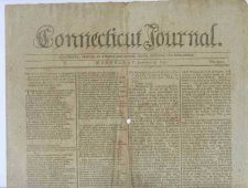 Buy CT New Haven Newspaper Title: Connecticut Journal Date: Jan-4-1797~15