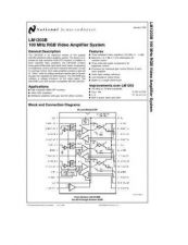 Buy SEMICONDUCTOR DATA LM1203BJ Manual by download Mauritron #189120
