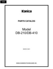 Buy Konica DB210PC Service Schematics by download #135552