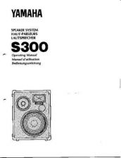 Buy Yamaha S300 EN Operating Guide by download Mauritron #205247