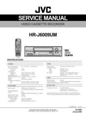 Buy JVC HR-J6009UM TECHNICAL DATA by download #131036