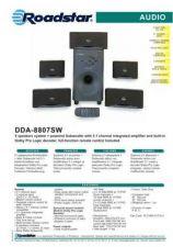 Buy ROADSTAR DDA-8807SW by download #128075