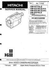 Buy Hitachi VM-E535 635-VM-H835LA Manual by download Mauritron #184657
