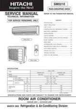 Buy HITACHI SM 0210E Service Data by download #147477