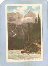 Buy CAN Field Postcard Cathedral Peak Altitude 10;454 Ft Yogo National Park ca~29