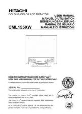 Buy Sanyo CML155XW ES Manual by download #173706