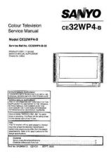 Buy Sanyo CE32WP4-B-02 Manual by download #173316