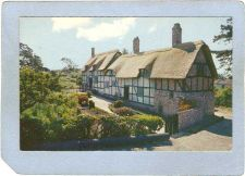 Buy CAN Victoria Postcard Anne Hathway's Cottage & Garden Olde England Inn can~202