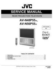 Buy JVC AV-N56P55 Service Schematics by download #155449
