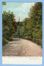 Buy CT New Haven English Drive And Soldiers Monument East Rock Tree Lined Dirt~620