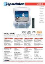 Buy ROADSTAR TVD-1437XT by download #128546