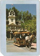 Buy CA Anaheim Amusement Park Postcard Disneyland Journey Through The Good Old~248