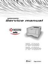 Buy KYOCERA FS-1010 PARTS MANUAL by download #148416