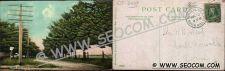 Buy CT Norwich Postcard Pine Road Near State Hospital Street Scene w/Horse & W~2409