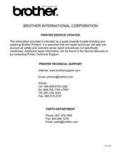 Buy Brother SU_INKJET Service Schematics by download #135090
