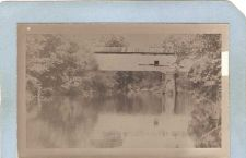 Buy GEN Unknown Covered Bridge Postcard Covered Bridge Real Photo Post Card RP~1047