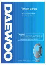 Buy DAEWOO SM KOG-374RA (E) Service Data by download #150585