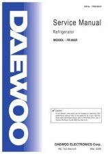 Buy DAEWOO SM FR-063R (E) Service Data by download #150517