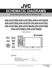Buy JVC KW-AVX706J sch Service Schematics by download #156274